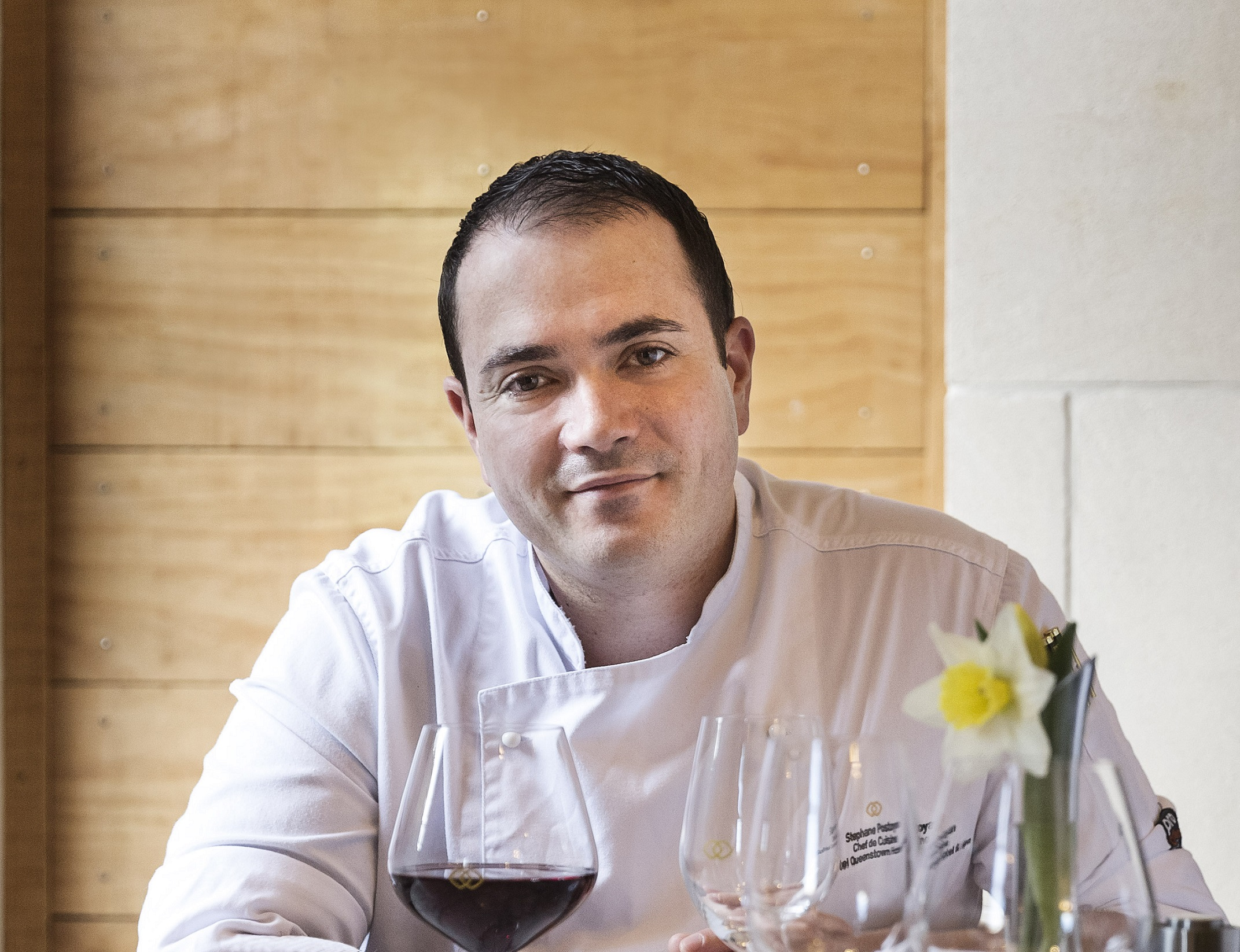 Left Bank Cafe and Bistro head chef Stephane Postoyan