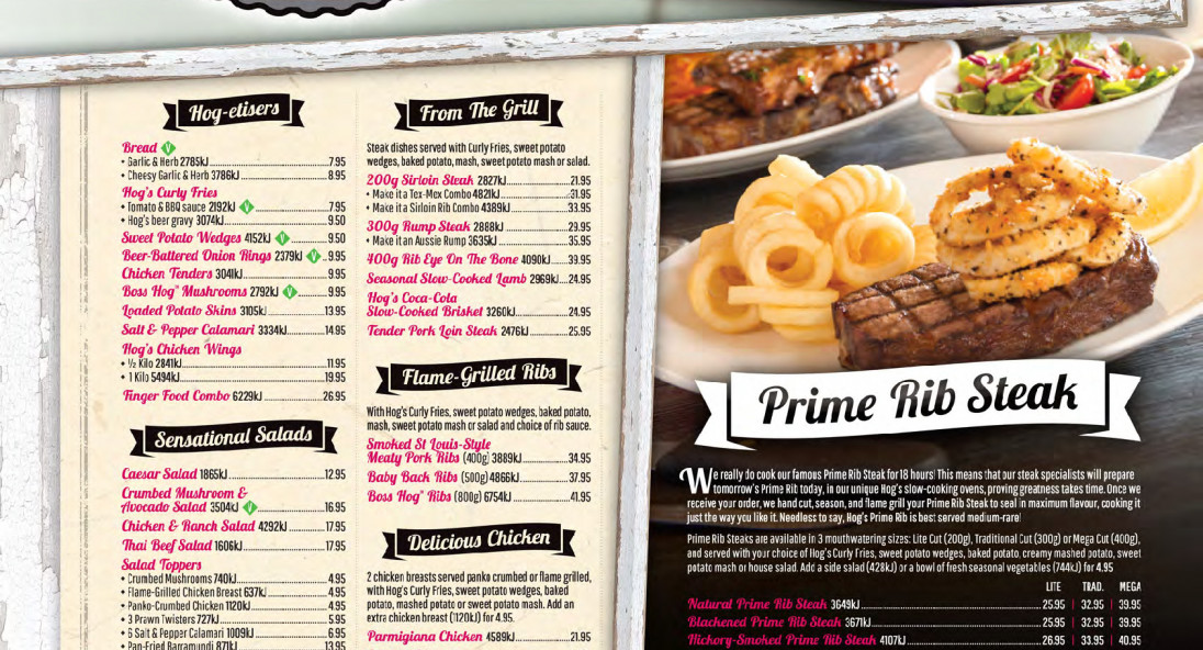 Hog's Breath Cafe Mandurah: 50% off the first table of the