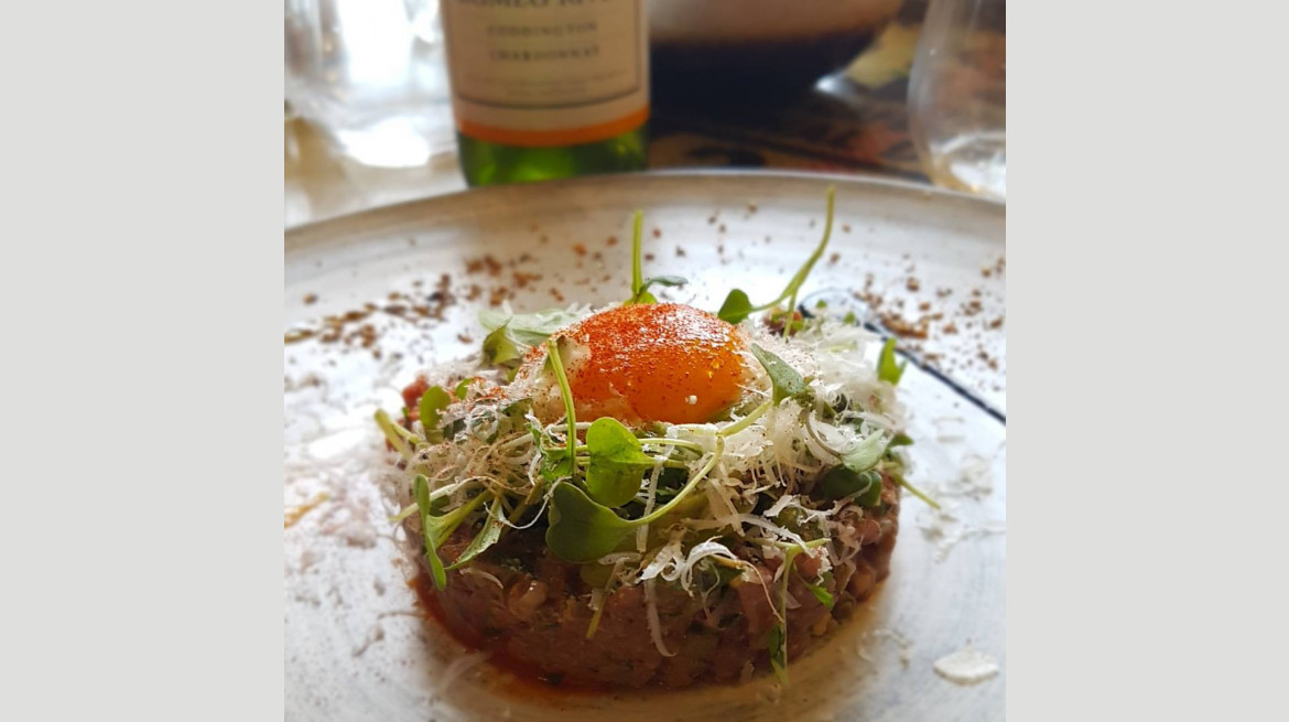 crave beef tartare