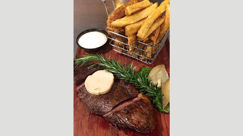 vertical 8 steak