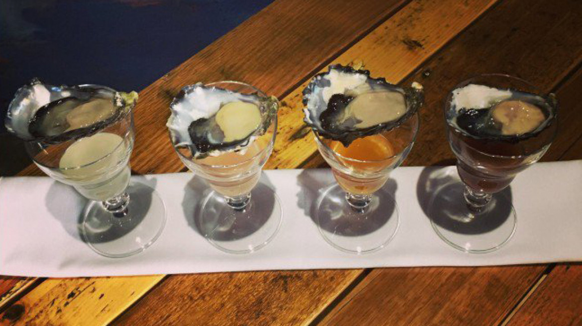 moldy fig oyster shots