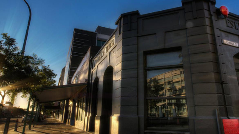 publishers hotel exterior