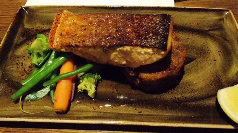 roaring grill salmon