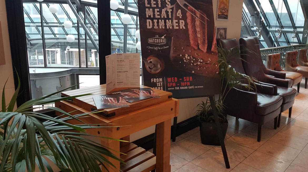 The Butcher's Block: 50% off the first table of the night with First Table