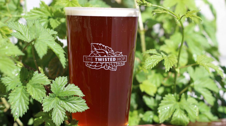 twisted hop beer