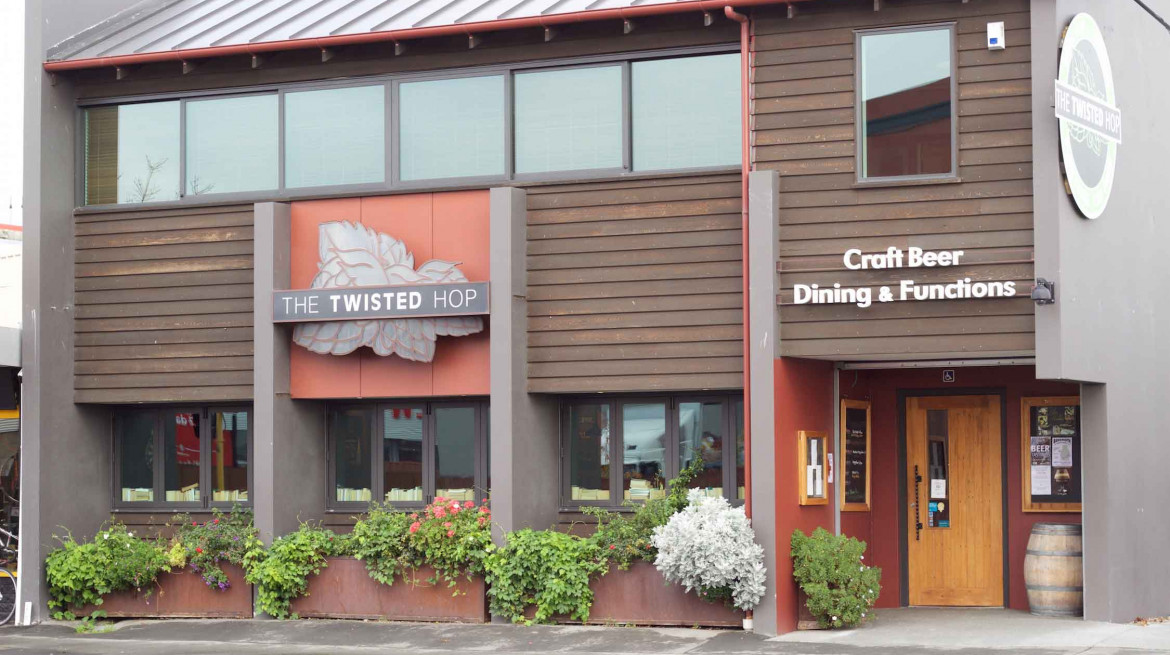 twisted hop exterior