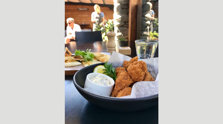 chicken bites and flatbread 2