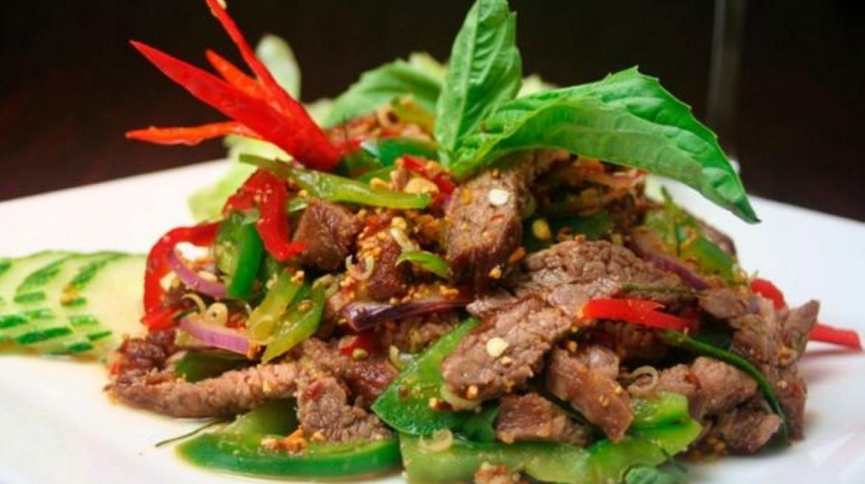 tusk thai beef salad