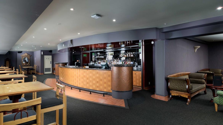 mezz bar interior