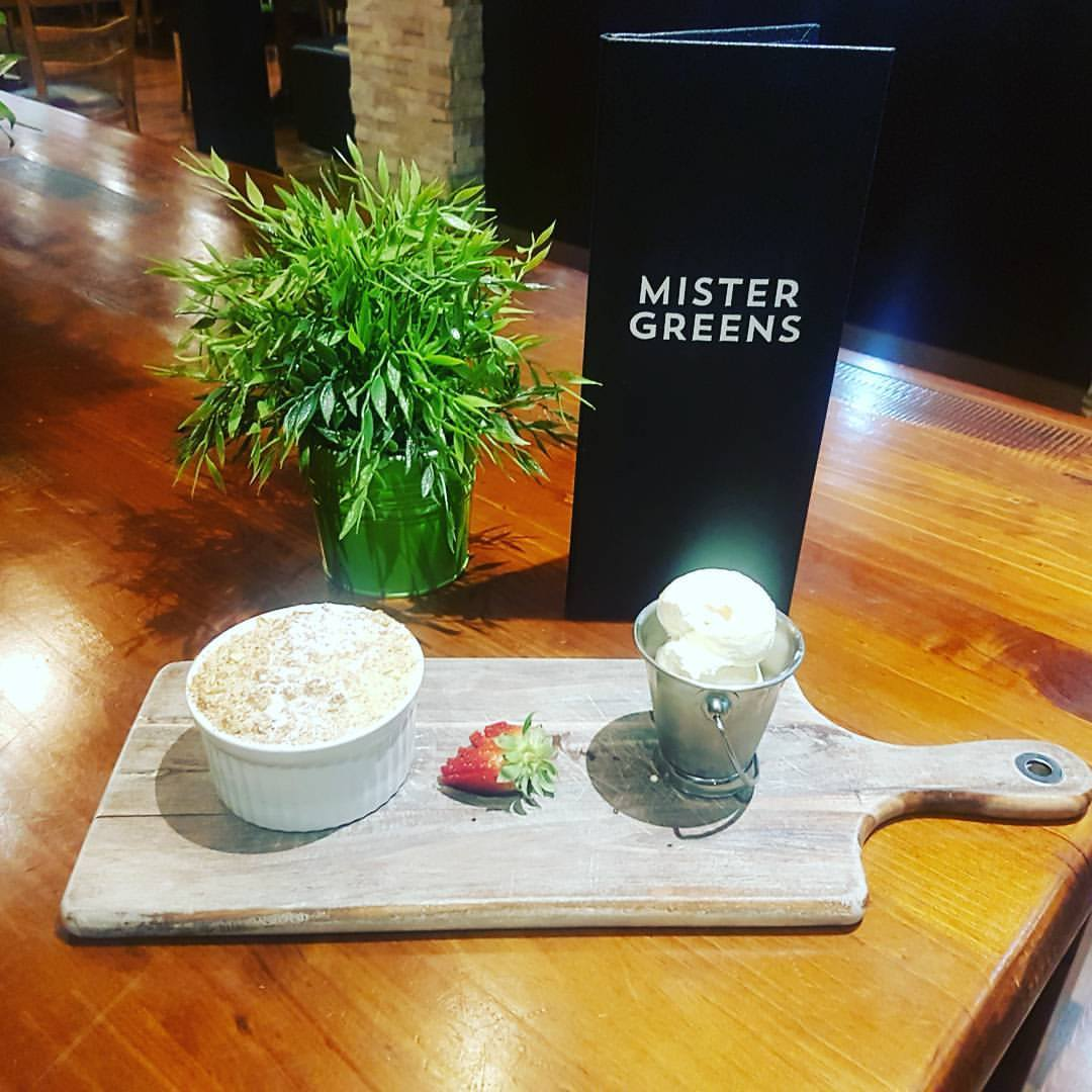 Mister Greens: 50% off the first table of the night with First Table