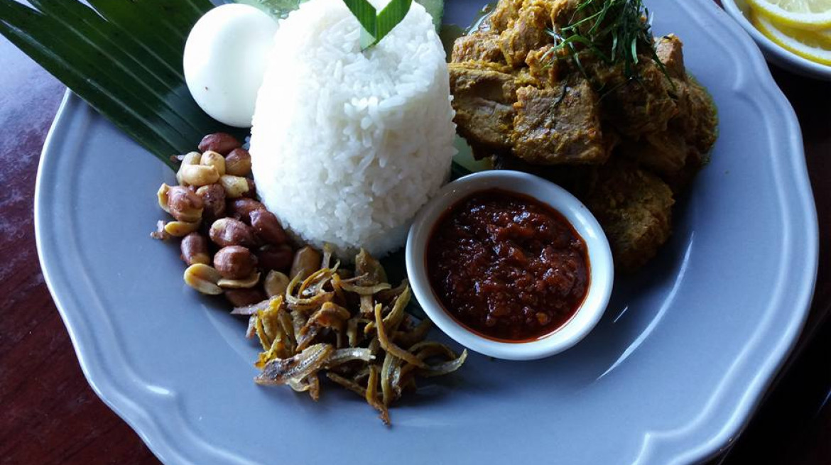 malay dry curry