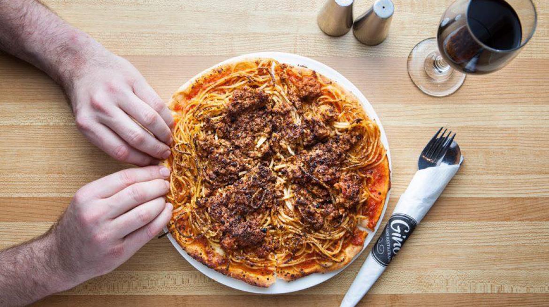 ginos bol pizza