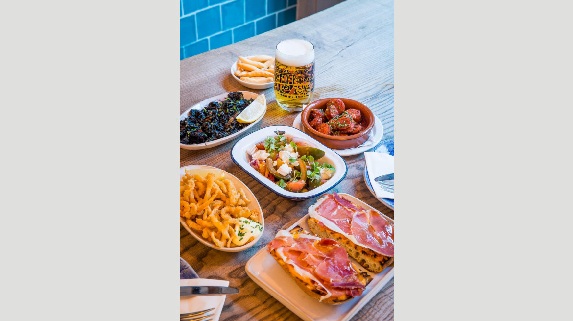 tapas spread yes