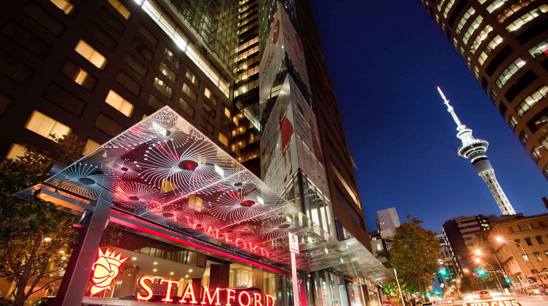 Stamford Plaza Auckland exterior Hi res