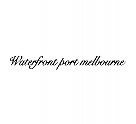 Waterfront Port Melbourne