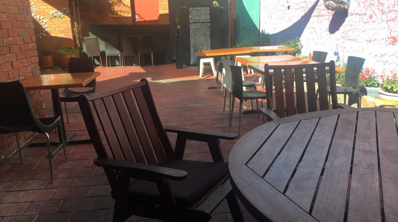 ashoka courtyard