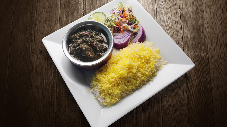 Ghormeh Sabsi Stew Polo