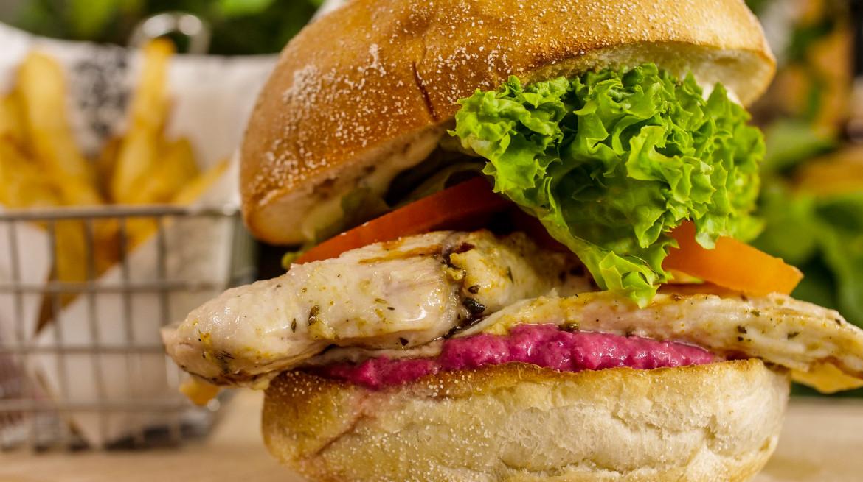 chicken burger 2