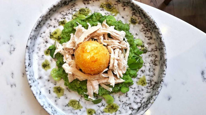 pickled hen egg