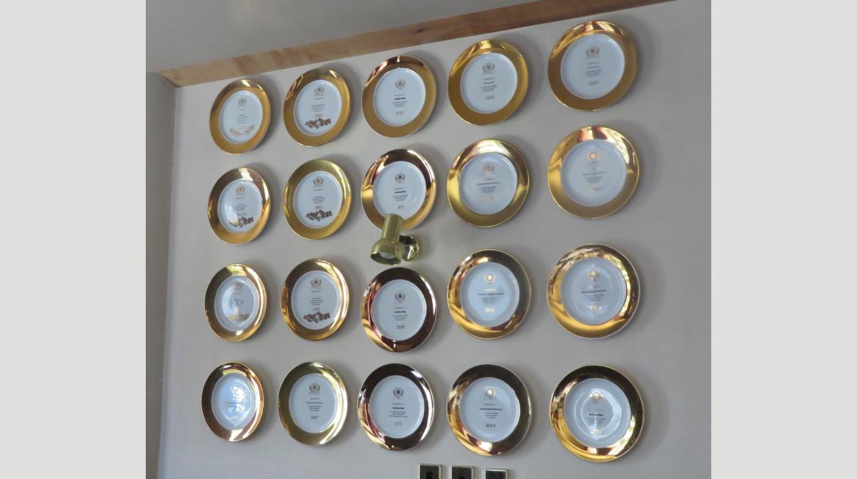 Gold Plates 1999 2019