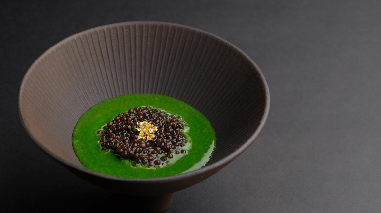 Caviar a legumes