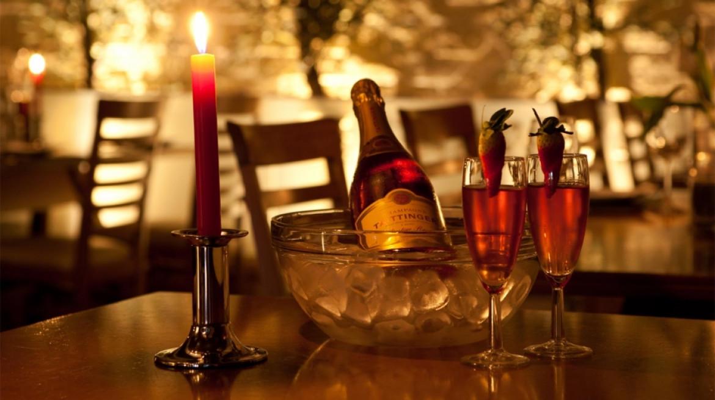 romantic dinner opa