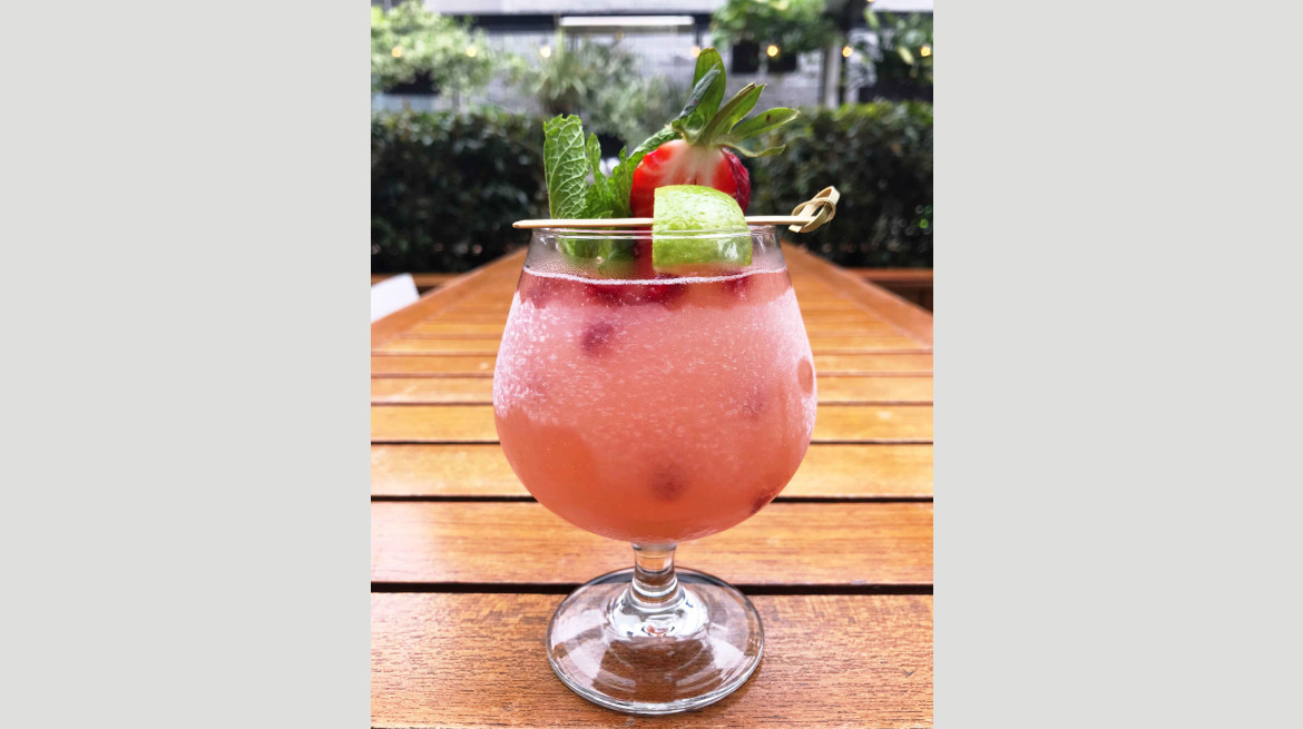 glass goose frose