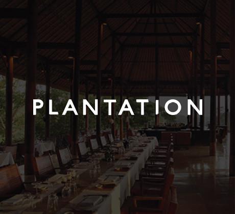 Plantation Restaurant at Alila Ubud