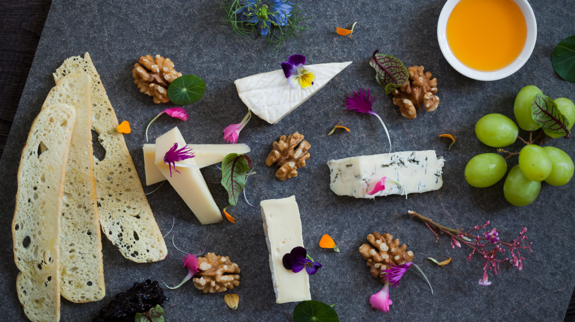 The LUXE Cheese Tray...our favorite cheeses from around the world