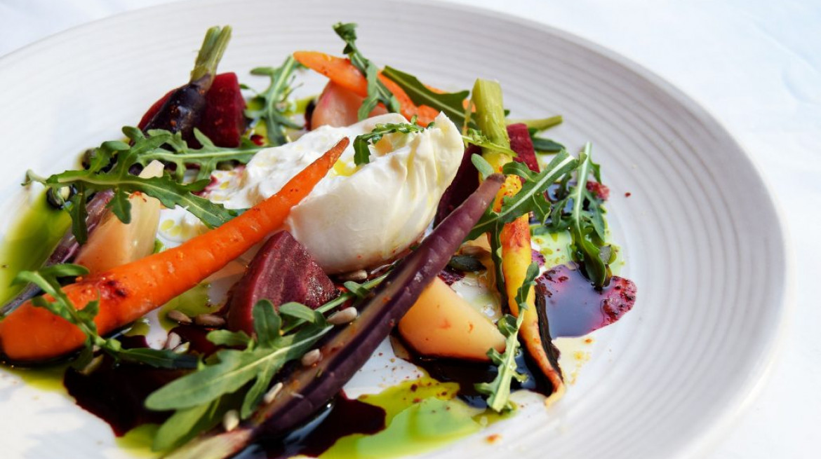 jones family kitchen belgravia london lunch Creamy English Burrata 1030x687