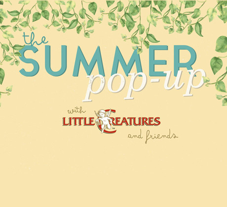 The Summer Pop-Up with Little Creatures