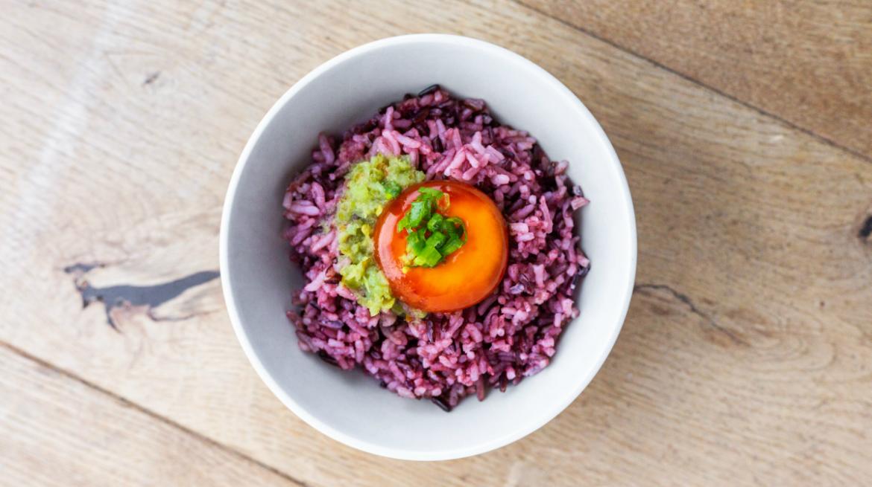 Wild Rice and Mamasan Wild Rice dish