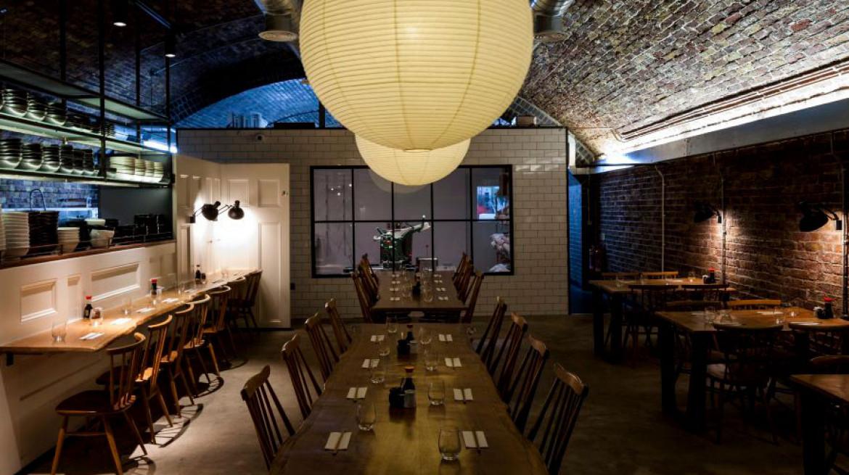tonkotsu east restaurant design dalston