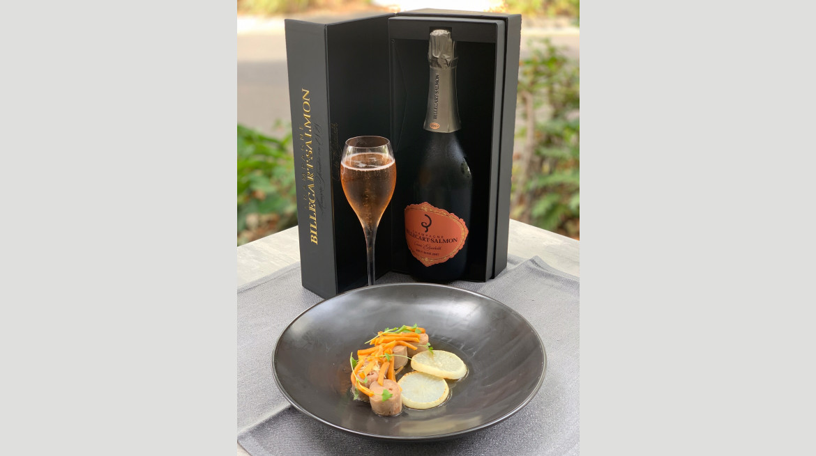 Champ Lunch March 2019 Drunken Quail Rose2