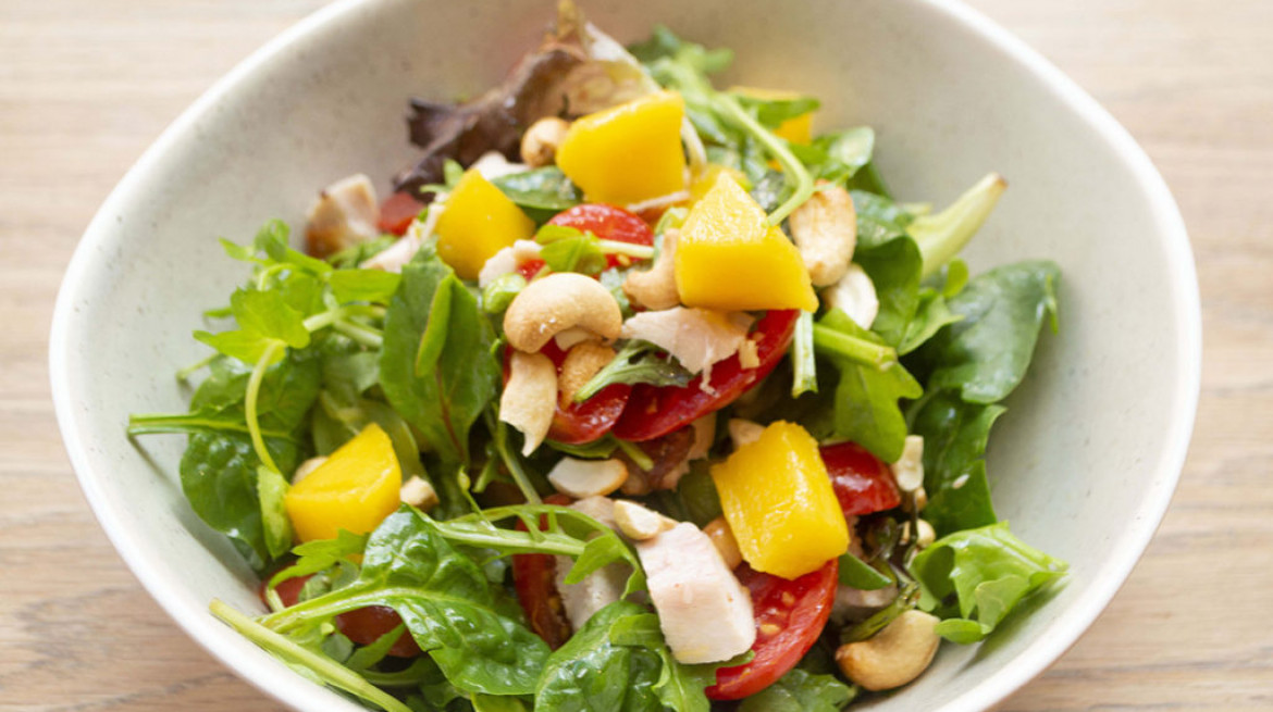 cropped Smoked Chicken Salad