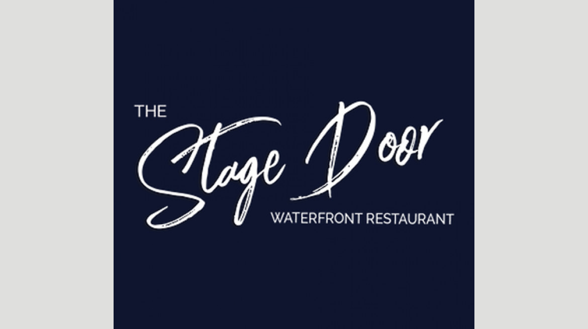 stage door logo