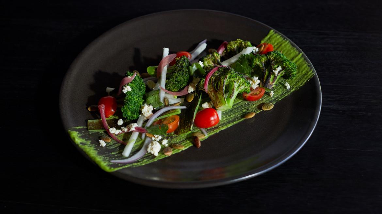 LACA SITA2009 Char Grilled Broccoli