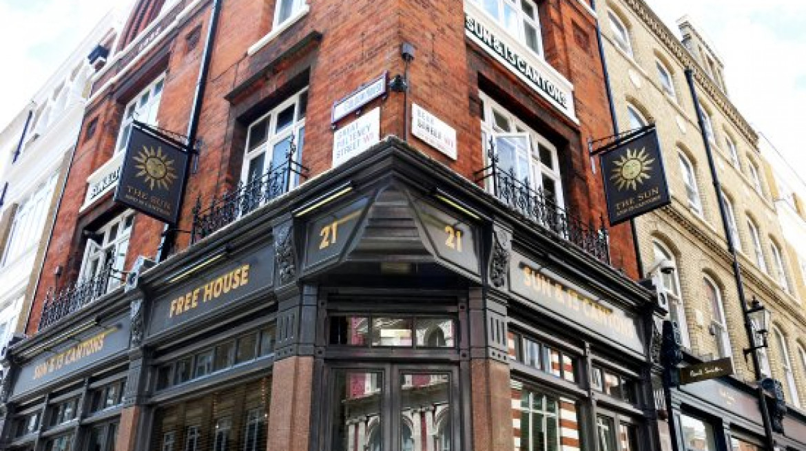 the sun 13 cantons soho