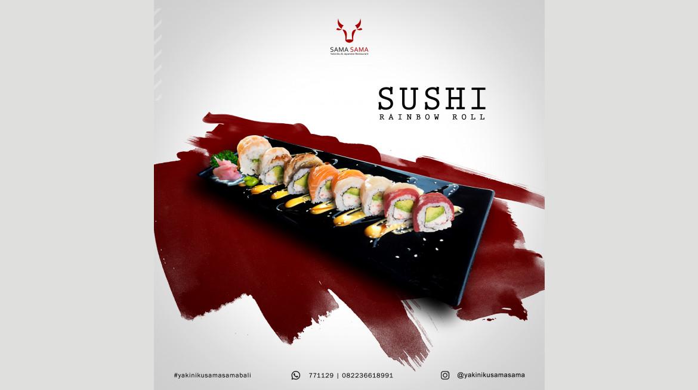 2018 12 05 sushi rainbow roll