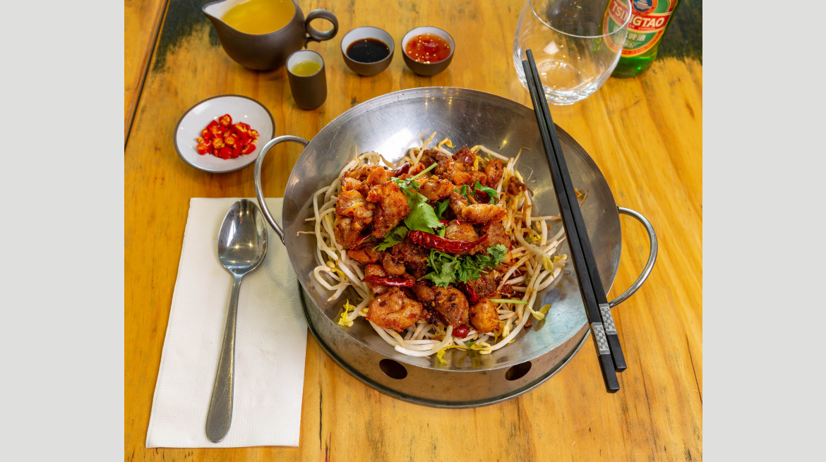 hejos sichuan chilli chicken nativey