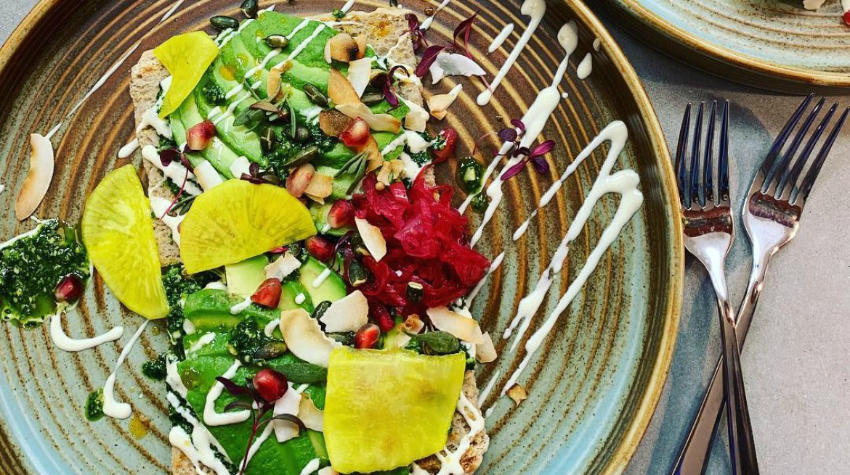 Wild Food Cafe Islington dish