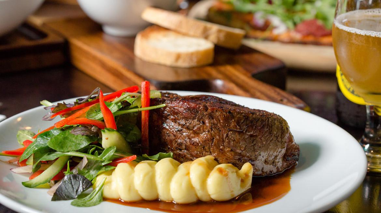 steak green