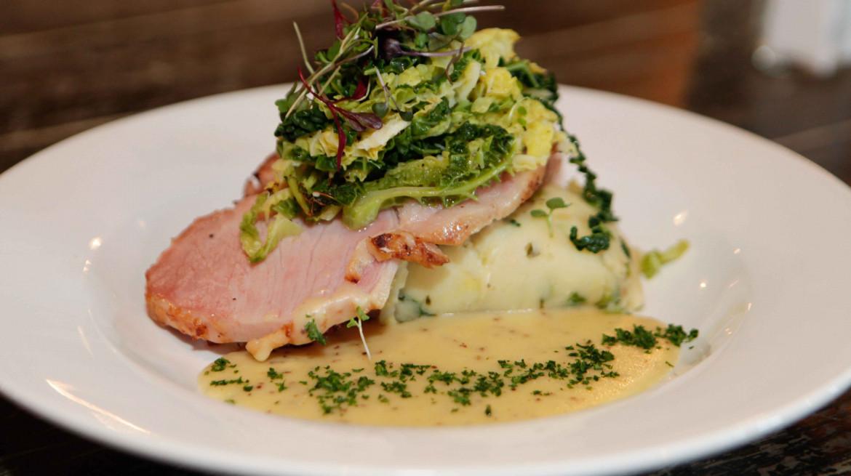 the bog glazed ham