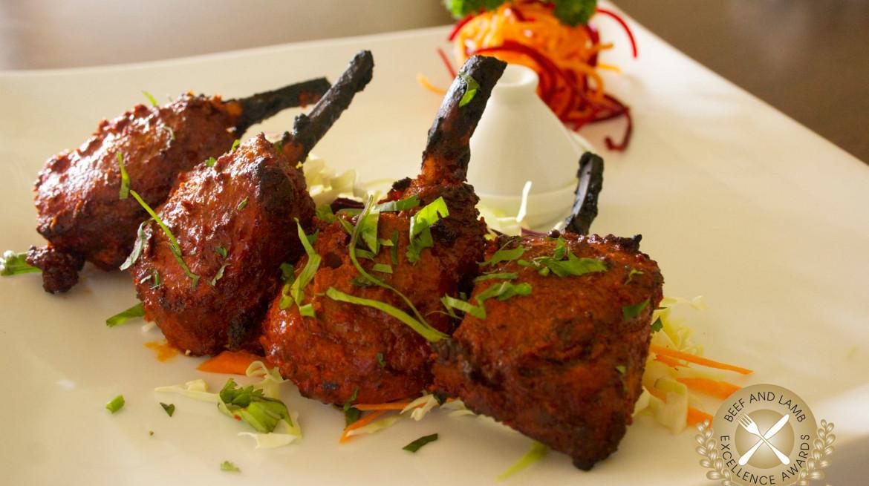 indigo spicy nz lamb chops