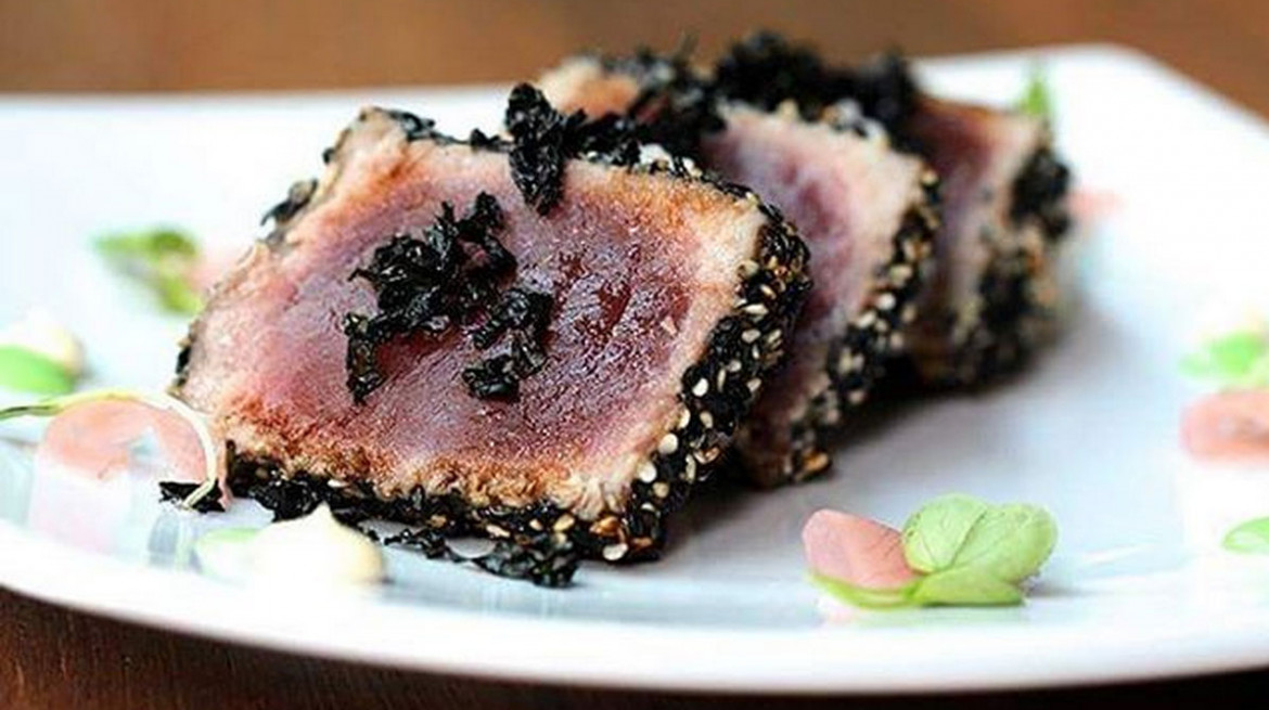 vikki lane seared tuna