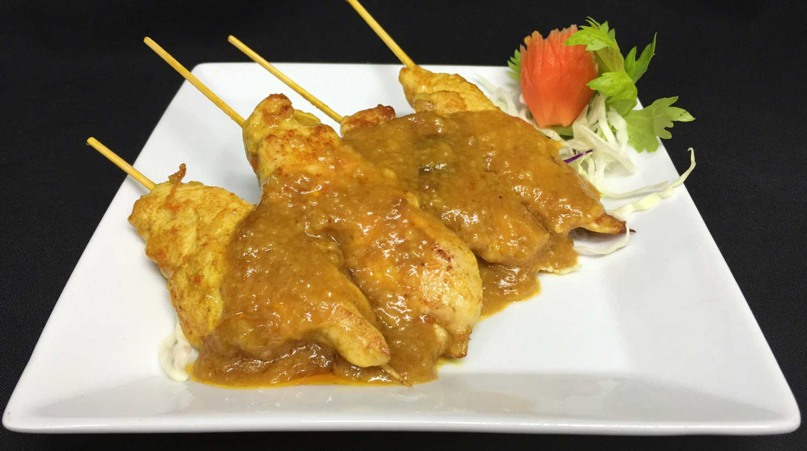 taste of asia satay chicken skeweres