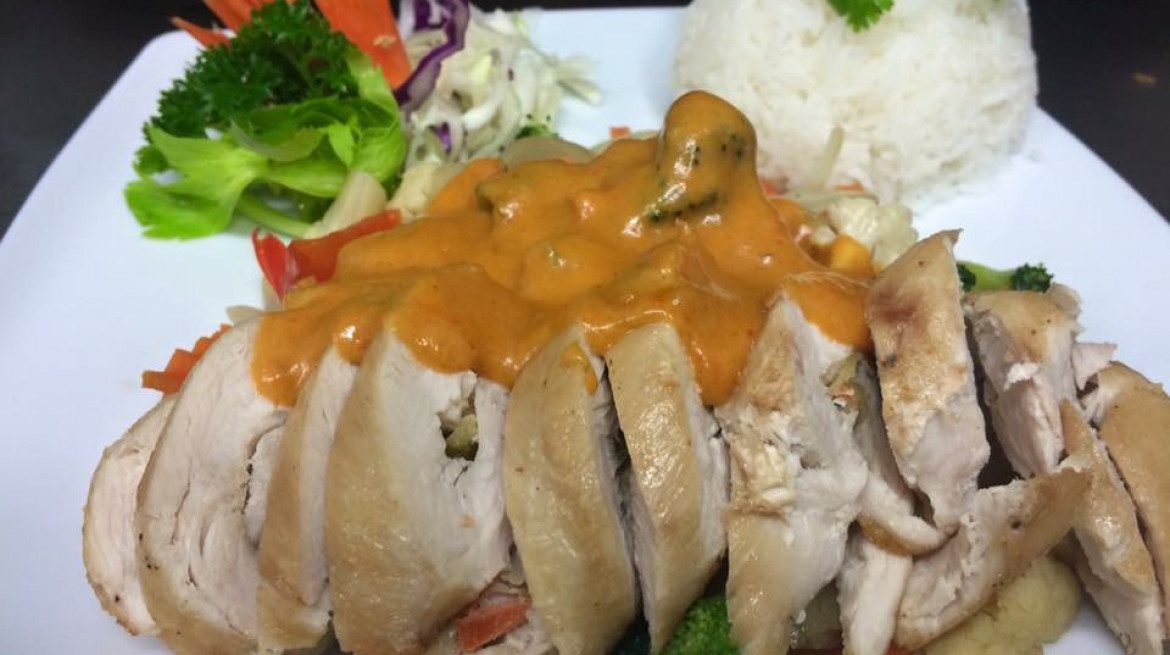 taste of asia stuffed chicken