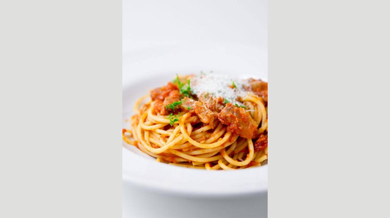 oopen spaghetti bolognese