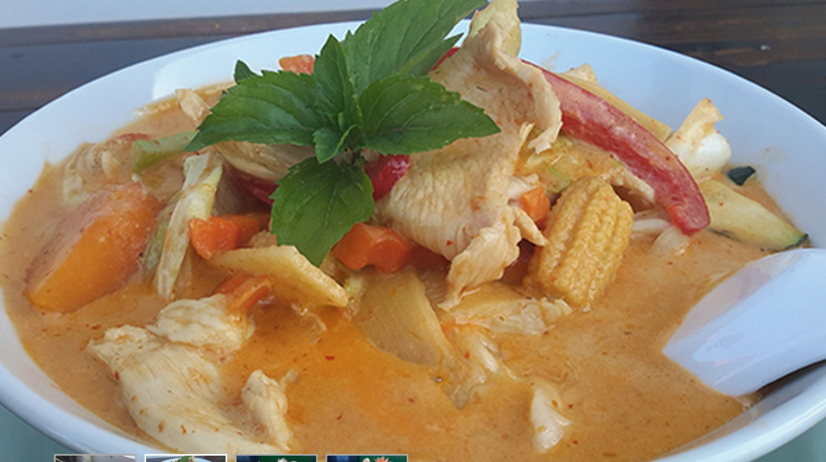 red elephant red curry