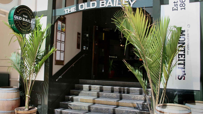 Old Bailey wellington entrance first table nz